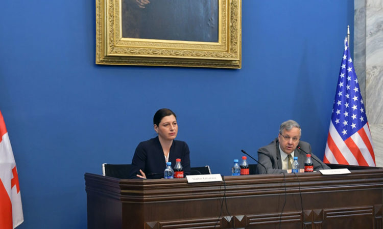Ambassador Kelly's Comments to Media at Parliament's Foreign Relations Committee. Photo: State Dept