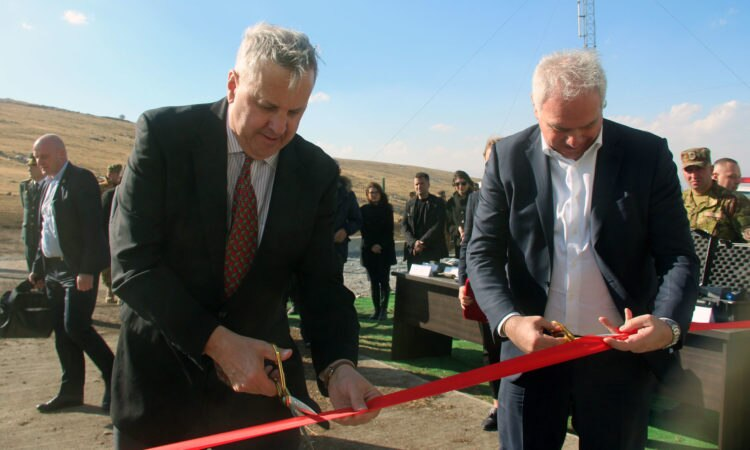 Ambassador Kelly and Interior Minister Mgebrsishvili Open New Border Security Facility in Sulda. Photo: State Dept