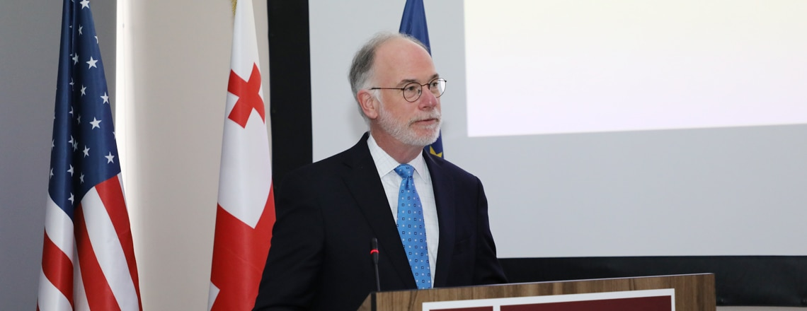 CDA Ambassador Ross Wilson's comments to media at the WRAIR 125 Years event (December 17)